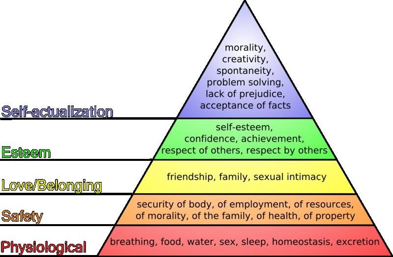 Анатомо физиологические потребности человека